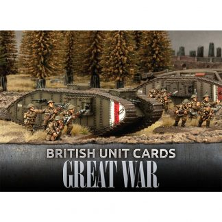 Great War: British Unit Cards 1