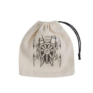 Vampire Beige & black Basic Dice Bag 1