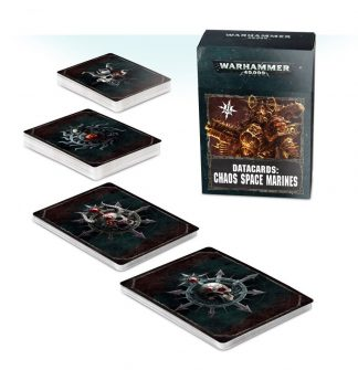 Datacards: Chaos Space Marines (2019) 1