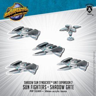 Monsterpocalypse Shadow Sun Syndicate Sun Fighters & Shadow Gate 1