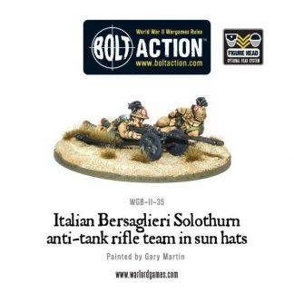 Italian Army Solothurn anti-tank Rifle Team 1