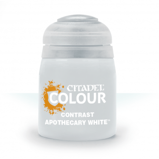 Contrast: Apothecary White 1