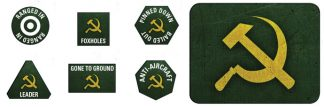 Late War Soviet Token & Objective Set 1