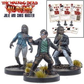 The Walking Dead: Julie & Chris Booster 1