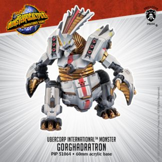 Monsterpocalypse Uber Corp Monster Gorghadratron 1