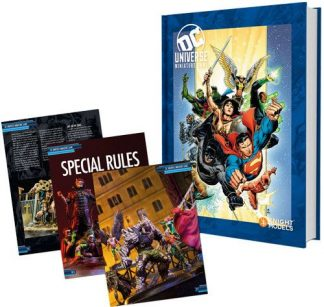 DC Universe Rulebook - Heroes Cover 1