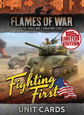 Fighting First Unit Cards (mid-war) 1