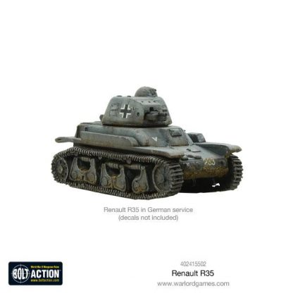 French Renault R-35 Tank 6