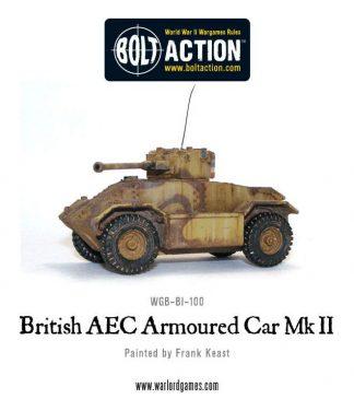 British AEC Armoured Car Mk II 1