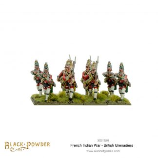 British Grenadiers - French Indian War 1