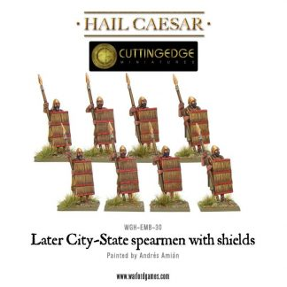 Later City-State spearmen with shields 1