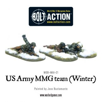 US Army MMG team (Winter) 1