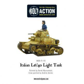 Italian L6/40 Light Tank 1