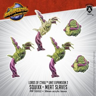 Monsterpocalypse Lords of Cthul Squix & Meat Slaves 1