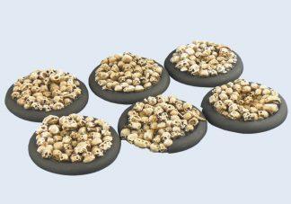 Skulls Bases, WRound 40mm (2) 1