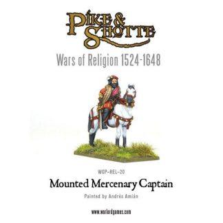 Mercenary Captain Mounted 1