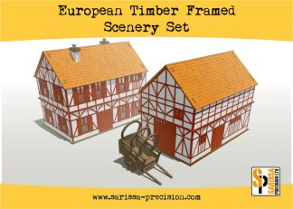 European Timber Frame Scenery Set 1