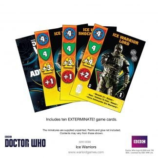 Doctor Who: Ice Warriors Card Set 1