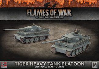 Tiger Heavy Tank Platoon (Plastic) 1
