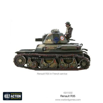 French Renault R-35 Tank 3