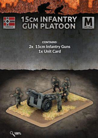 German 15cm Infantry Gun Platoon 1