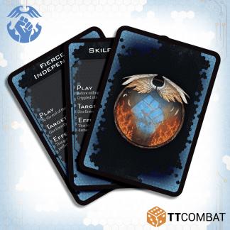 Dropfleet Commander Resistance Command Cards 1