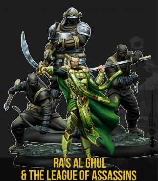 Ra's Al Ghul and The League of Assassins 1