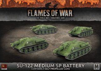 SU-122 Medium SP Battery 1