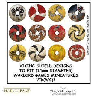 Viking Shield Designs 3 (small round) 1