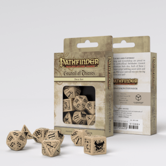 Pathfinder Council of Thieves Dice Set (7) 1