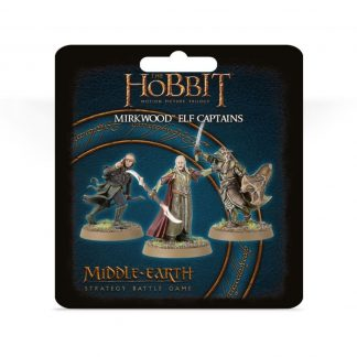 The Hobbit: Mirkwood Elf Captains 1