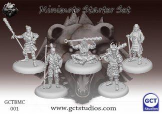 Minimoto Clan Starter Set 1