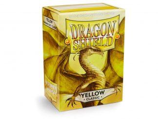 Dragon Shield Sleeves Yellow (100) 1