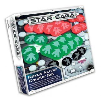 Star Saga: Acrylic Counter Set (Nexus) 1