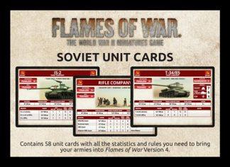 Late War: Soviet Unit Cards 1
