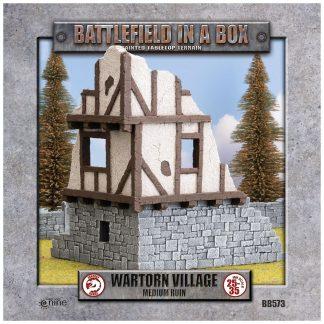 Wartorn Village - Medium Ruin 1