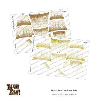 Black Seas: 3rd rate Sails (light + dark) 1