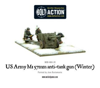 US Army 57mm anti-tank gun M1 (Winter) 1
