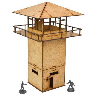 The Walking Dead Prison Tower MDF Scenery Set 1