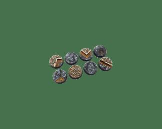 Cobblestone Bases, Round 32mm (4) 1