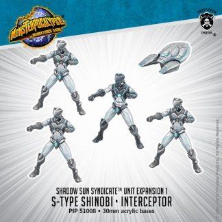 Monsterpocalypse Shadow Sun Syndicate Shinobis & Interceptor 1
