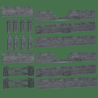 Terrain Crate: Battlefield Walls 1