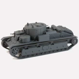 Soviet T-28 Tank, 28mm (1/56) 1