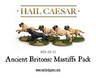 Ancient Britons Mastiffs Pack 1