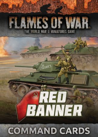 Red Banner Command Cards 1