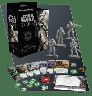 Star Wars Legion: Imperial Stormtroopers Upgrade 1