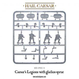 Caesar's Legions with gladius sprue 1