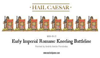 Early Imperial Romans Kneeling Battleline 1