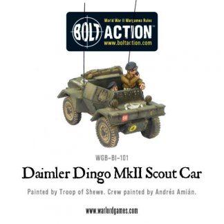 British Daimler Dingo MkII Scout Car 1