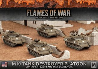 M10 3-Inch Tank Destroyer Platoon (4x Plastic) 1